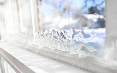 What effect do drafty windows have on your HVAC system?